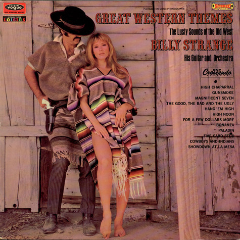 Billy Strange - Great Western Themes