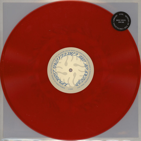 Coil - Queens Of The Circulating Library Red Vinyl Edition