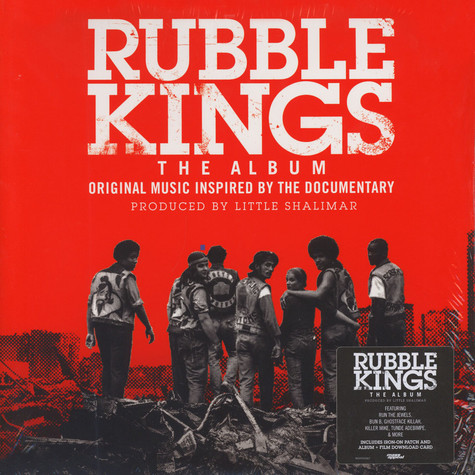 V.A. - Rubble Kings: The Album Colored Vinyl Edition