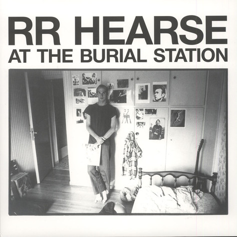 R.R. Hearse - At The Burial Station Black Vinyl Edition