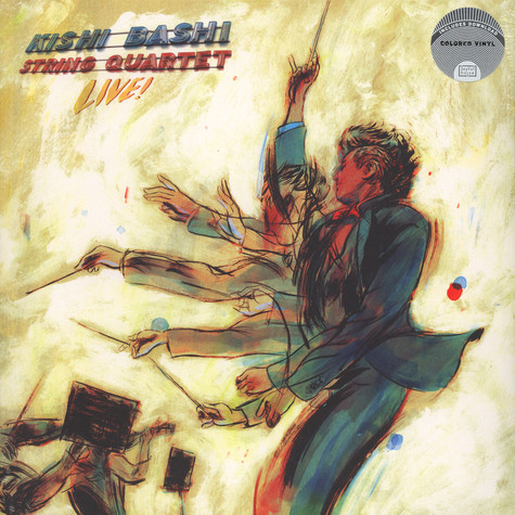 Kishi Bashi - String Quartet Live! Colored Vinyl Edition