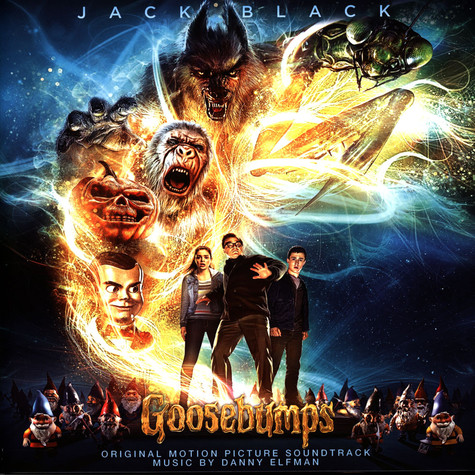 Danny Elfman - OST Goosebumps Black Vinyl Edition
