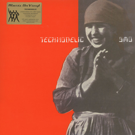 Yellow Magic Orchestra - Technodelic Transparent Vinyl Edition