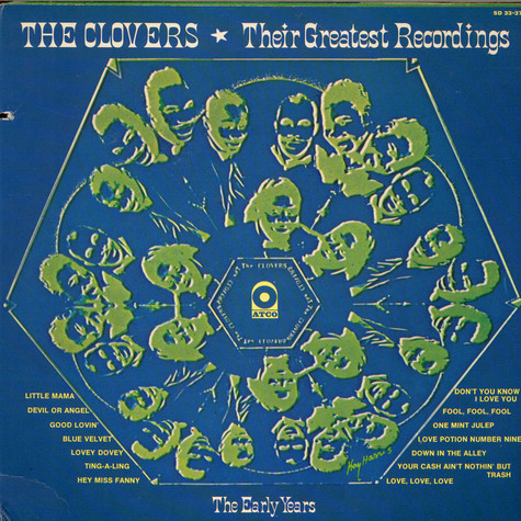 Clovers, The - Their Greatest Recordings, The Early Years