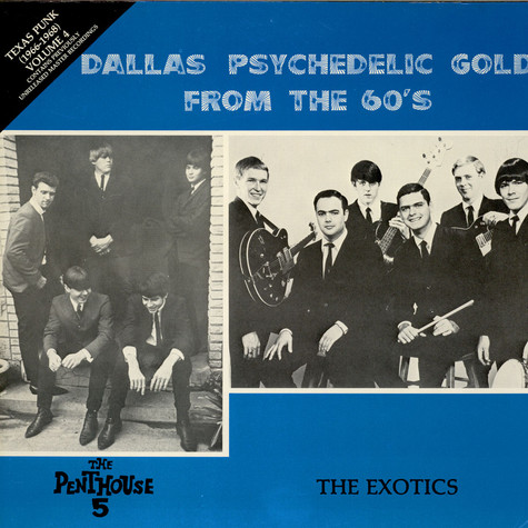 V.A. - Texas Punk 1966 Vol.4 - Dallas Psychedelic Gold From The 60's