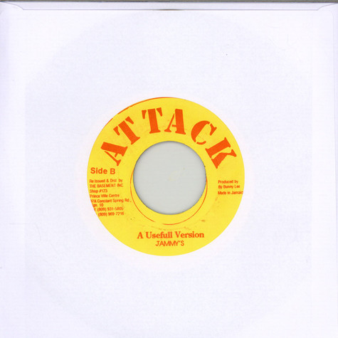 Horace Andy / Prince Jammy - Don't Try To Use Me / A Useful Version
