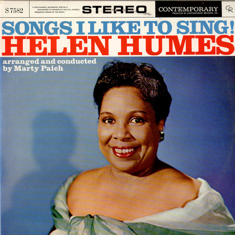 Helen Humes - Songs I Like To Sing!