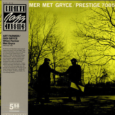 Art Farmer / Gigi Gryce - When Farmer Met Gryce