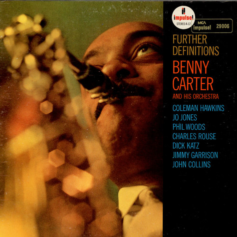Benny Carter And His Orchestra - Further Definitions