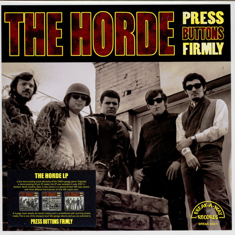 Horde, The - Press Buttons Firmly (Cover 1)