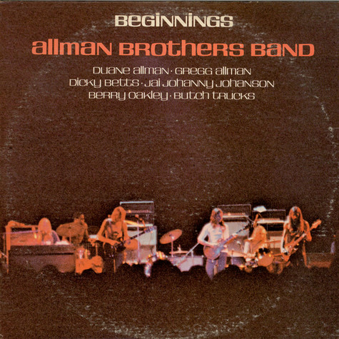 Allman Brothers Band, The - Beginnings