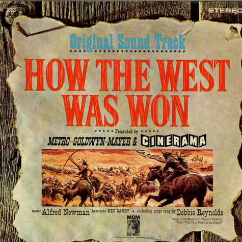 Alfred Newman, Debbie Reynolds, Ken Darby - OST How The West Was Won