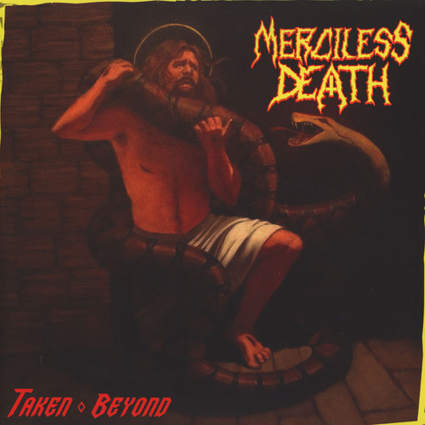 Merciless Death - Taken Beyond Black Vinyl Edition