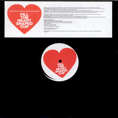 Carlos Niño & Miguel Atwood-Ferguson - Fill The Heart Shaped Cup