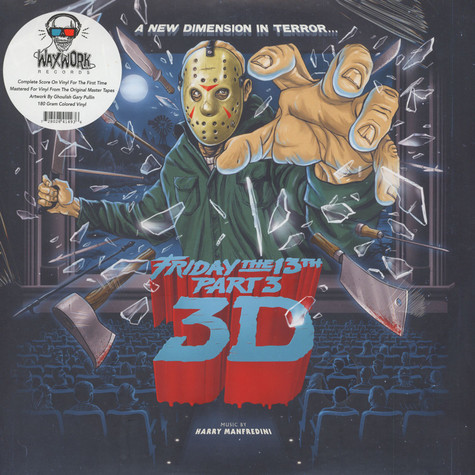 Harry Manfredini - OST Friday The 13th Part 3 Blood Splatter Vinyl Edition