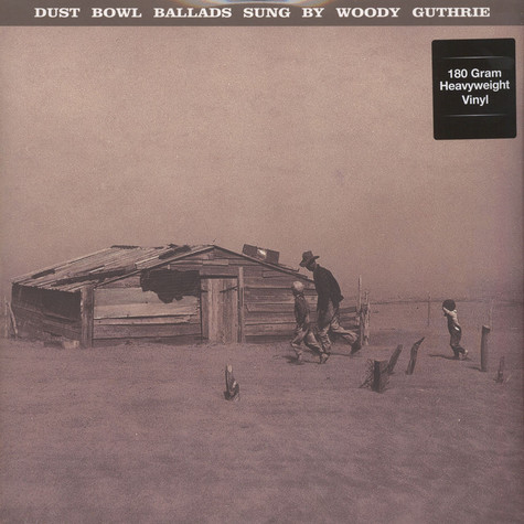 Woody Guthrie - Dust Bowl Ballads 180g Vinyl Edition