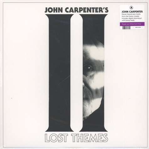 John Carpenter - Lost Themes II Purple & White Vinyl Edition