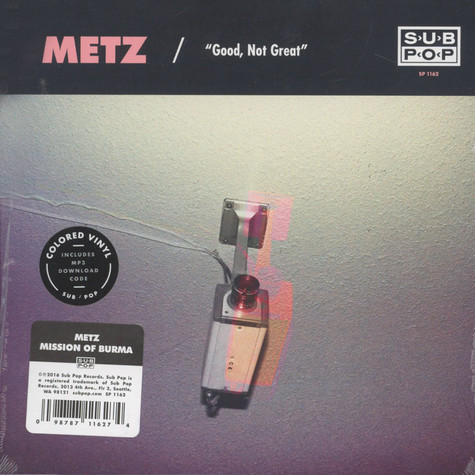 Metz / Mission of Burma - Good, Not Great / Get Off