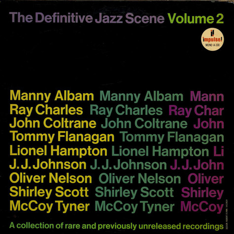 V.A. - The Definitive Jazz Scene Volume 2