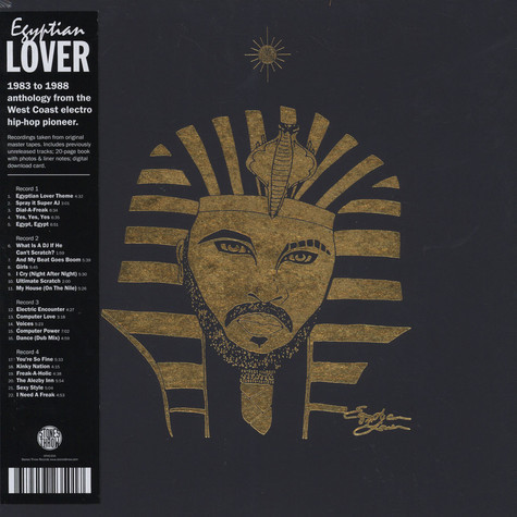 Egyptian Lover - 1983-1988 Box Set