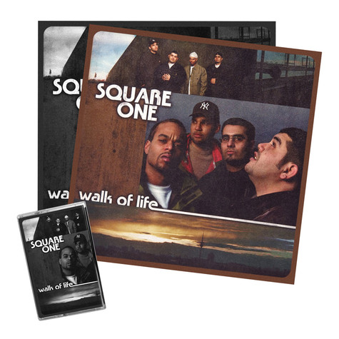 Square One - Walk Of Life 15th Anniversary Vinyl Re-Release HHV Bundle