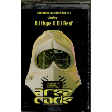 DJ Hype & DJ Reaf - Area Code (Icon Analog Series Vol. 1)