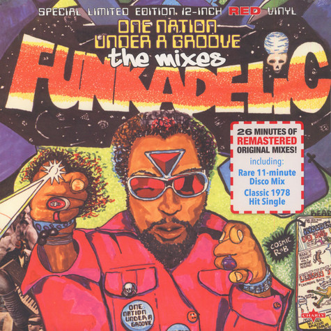 Funkadelic - One Nation Under A Groove - The Mixes