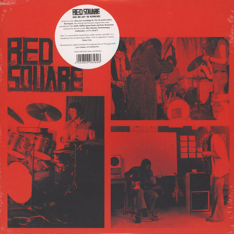 Red Square - Rare And Lost 70s Recordings