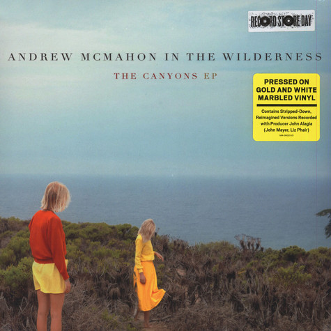Andrew McMahon In The Wilderness - The Canyons Marbled Vinyl Edition