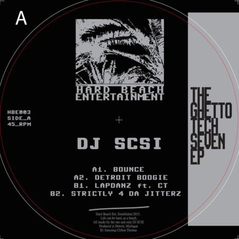 DJ SCSI - The Ghetto Tech Seven EP