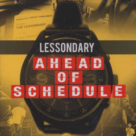 Lessondary - Ahead Of Schedule