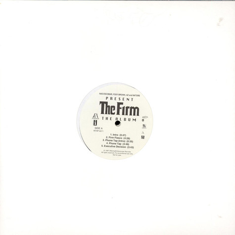 Firm, The - The Album