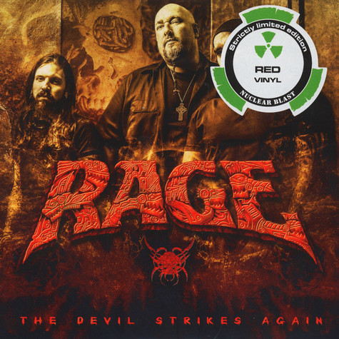 Rage / Destruction - The Devil Strikes Again / Second To None Red Vinyl Edition