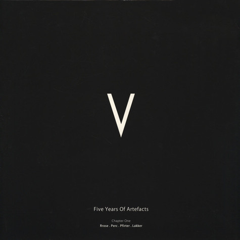 V.A. - V - 5 Years Of Artefacts Chapter 1