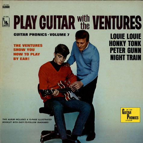 Ventures, The - Play Guitar With The Ventures Volume 7