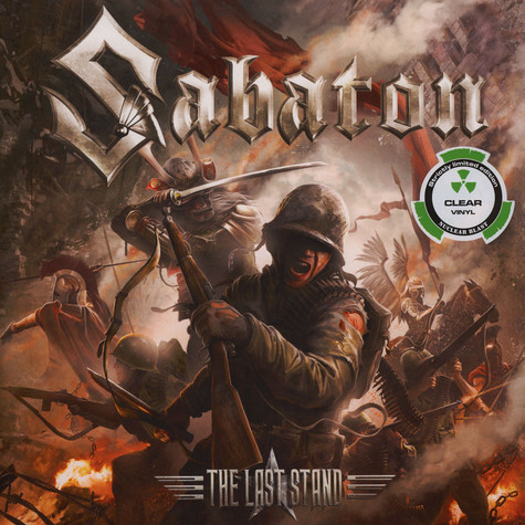 Sabaton - The Last Stand Clear Vinyl Edition