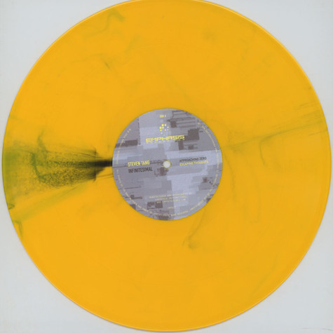 Steven Tang - Infintesimal Colored Vinyl Edition