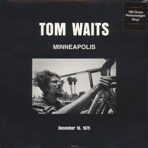 Tom Waits - Live In Minneapolis, MN December 16, 1975 KQRS-FM