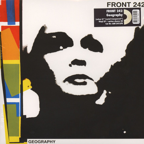 Front 242 - Geography Clear Vinyl Edition