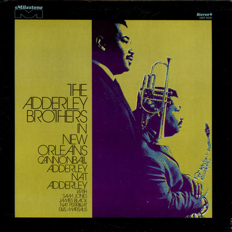 The Adderley Brothers - In New Orleans