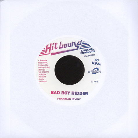 Micah Shemaiah & Mark Wonder / Franklyn Irving - Jah Is The Way / Bad Boy Riddim