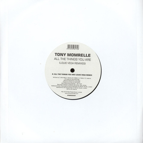 Tony Momrelle - All The Things You Are Louie Vega Remixes