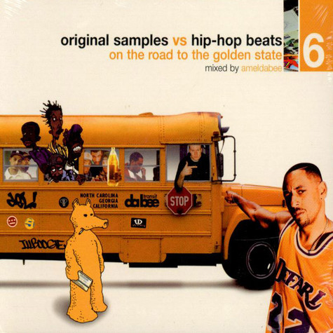 Ameldabee - Original Samples vs Hip-Hop Beats 6 : On The Road To The Golden State