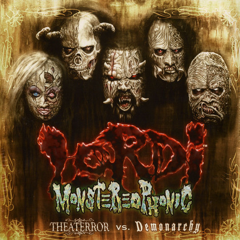 Lordi - Monstereophonic - Theaterror Vs. Demonarchy Color Vinyl Edition
