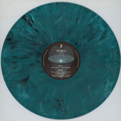 Thee J Johanz - Move Your Butty Prins Thomas Remix Coloured Vinyl Edition