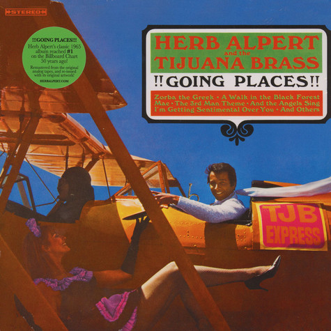 Herb Alpert Amp Tijuana Brass Going Places Vinyl 2lp
