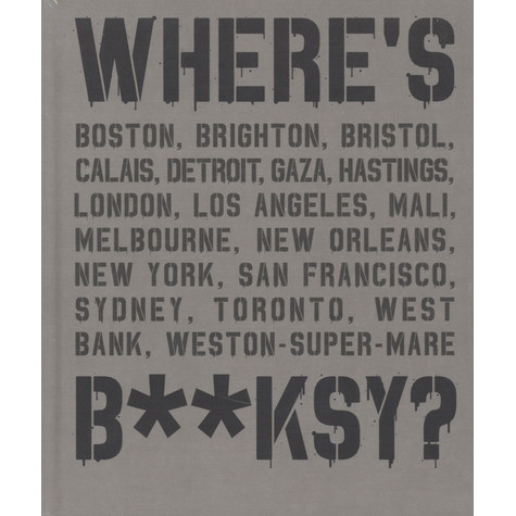 Xavier Tapies - Where's Banksy?