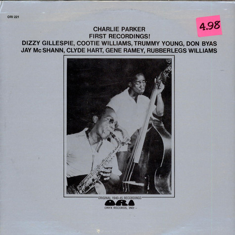 Charlie Parker - First Recordings!