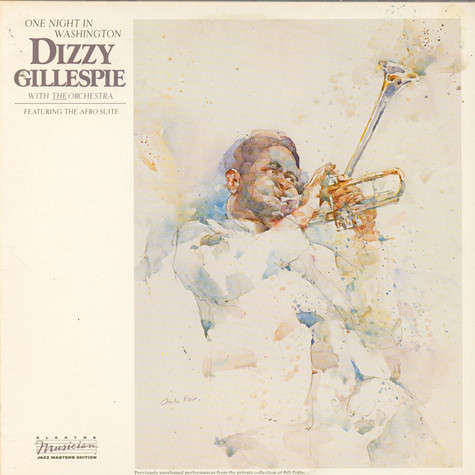Dizzy Gillespie With The Orchestra - One Night In Washington