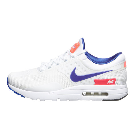 buy popular 87a10 4ecc8 Nike - Air Max Zero QS (White / Ultramarine / Solar Red / Black) | HHV
